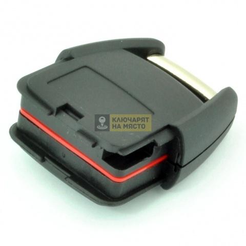 Кутийка за Opel с 2 бутона за батерия CR2032