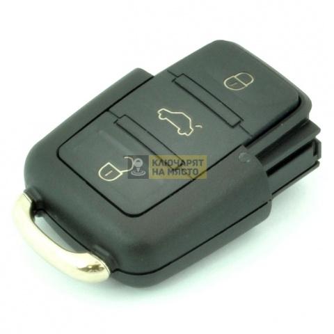 Кутийка за VW с 3 бутона за батерия CR2032