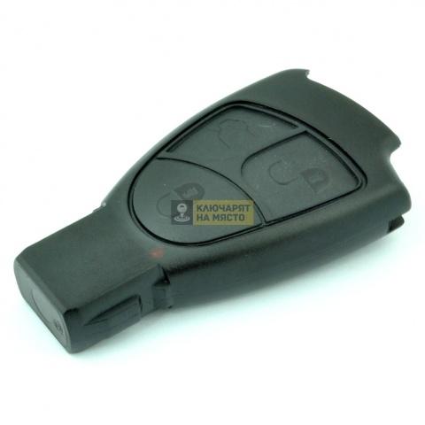 Кутийка за смарт ключ Mercedes с 3 бутона и лого
