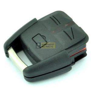 Кутийка за Opel с 3 бутона за батерия CR2032