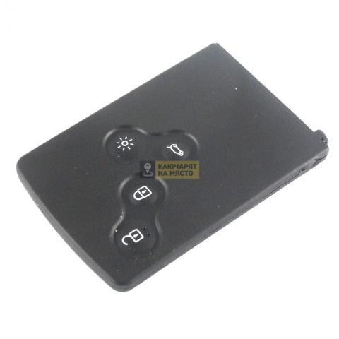 Кутийка за карта за Renault Koleos с 4 бутона
