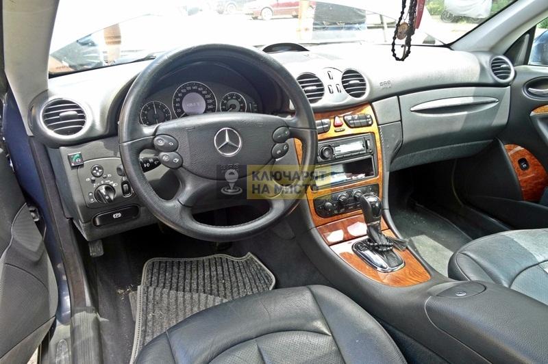 Кодиране на EZS модул за Mercedes CLK W209
