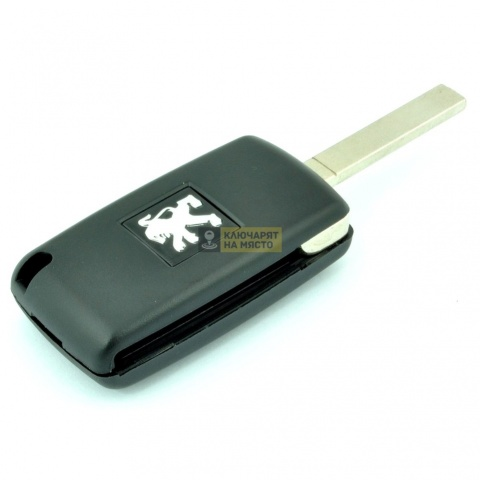 Ключ за Peugeot Сгъваем 2 бутона Сгъваем 433 Mhz