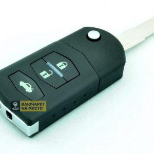 Ключ за Mazda ID60 ID63 434 Mhz 3 бутона Mitsubishi