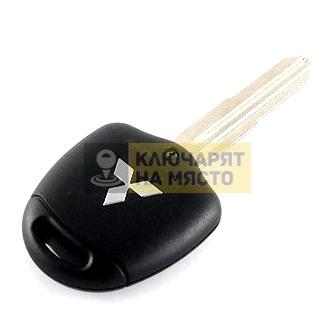 Ключ за Mitsubishi ID46 434 Mhz 2 бутона ляво перо