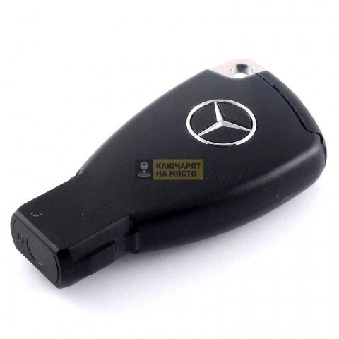 Корпус за смарт ключ Mercedes с 3 бутона с перо