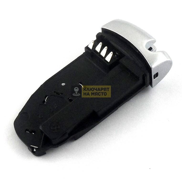 Държач за смарт ключ за Mercedes хром