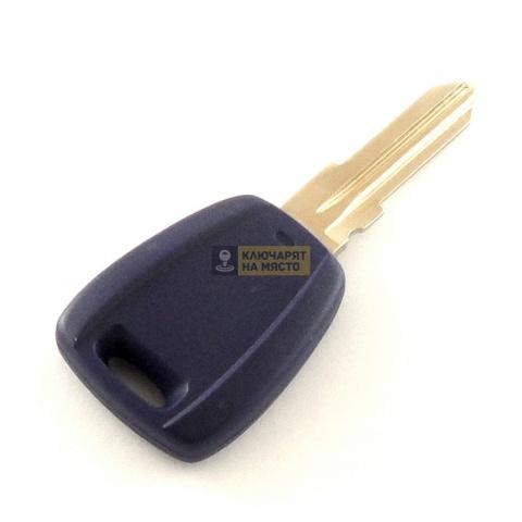 Ключ за FIAT Punto с място за транспондер