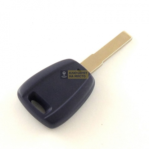Ключ за FIAT 500 с място за транспондер
