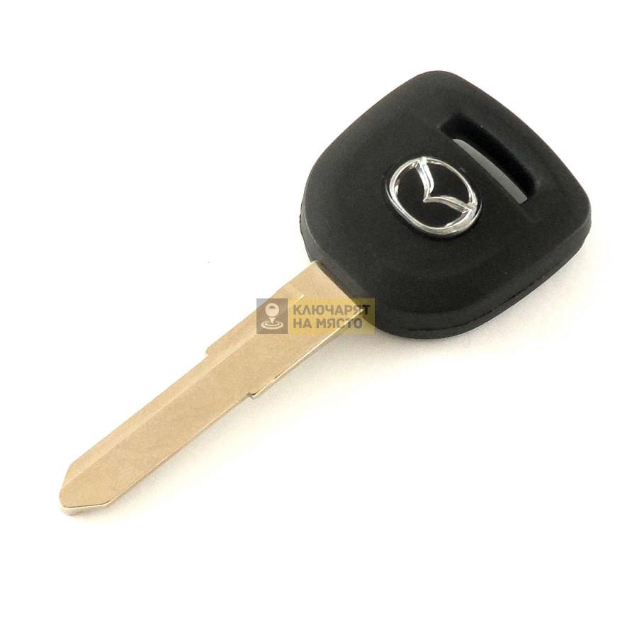 Ключ за Mazda с място за транспондер