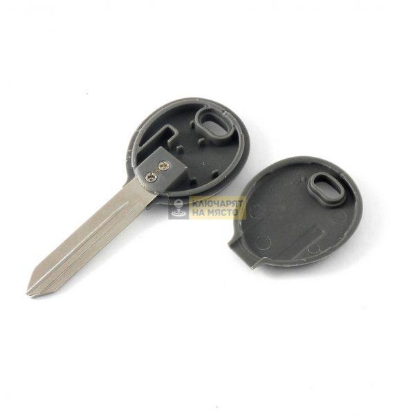Ключ за Chrysler с място за транспондер