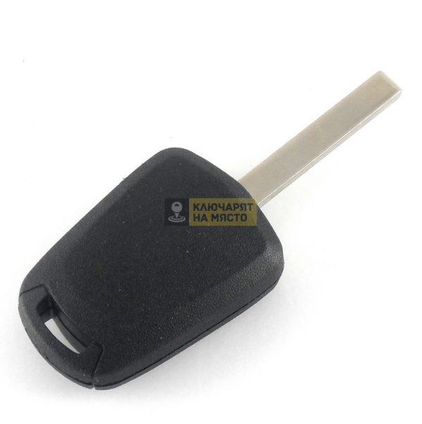 Ключ за Opel с място за чип профил HU100