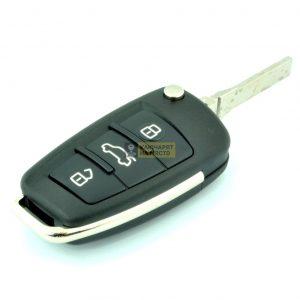 Ключ за Audi ID48 433 Mhz 315 Mhz B02