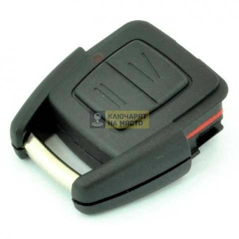 Ключ тяло за Opel Omega B ID40 с 2 бутона