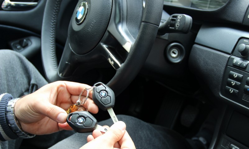 Ключ за BMW E46 Изработка на нов ключ