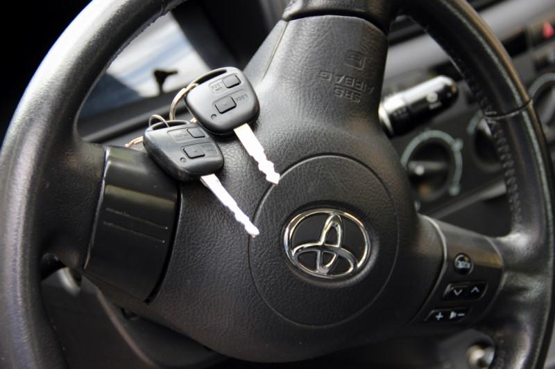 Ключ за Toyota Corolla Ремонт, подмяна на батерия и бутони