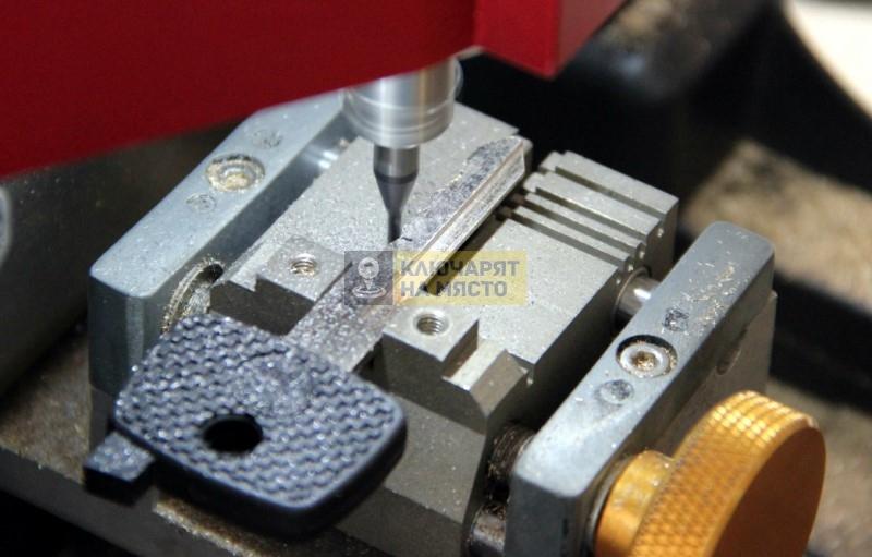 Ключ за Mercedes Actros Изработка