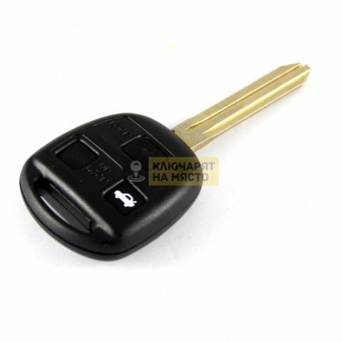 Ключ за Toyota ID4D 434 Mhz 3 бутона профил TOY40