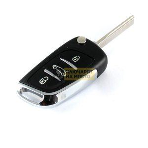 Дизайнерски ключ за Subaru ID4D 434 Mhz B11