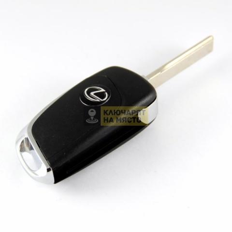 Дизайнерски ключ за Lexus ID4C 433 Mhz 315 Mhz B11