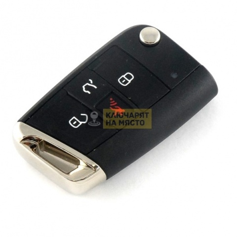 Ключ за VW Golf 7 ID48 315 Mhz с 4 бутона