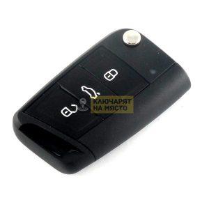 Ключ за SEAT ID48 434 Mhz с 3 бутона