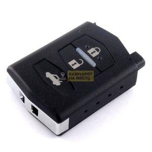 Ключ за Mazda ID60 ID63 434 Mhz 3 бутона Visteon