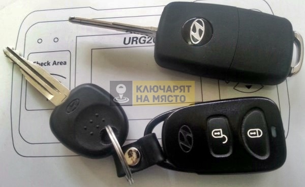 Ключ за Hyundai Tucson Дубликат