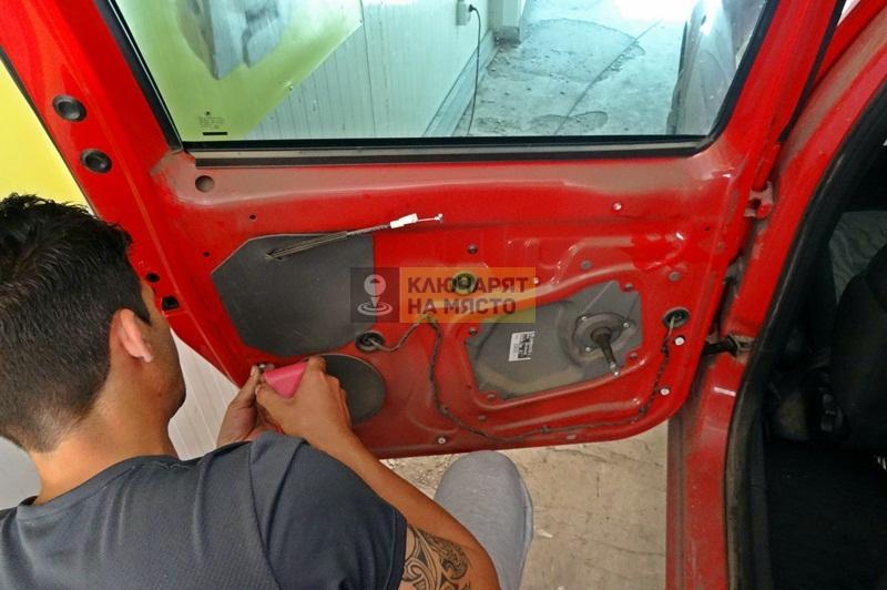 Блокирала брава на Skoda Roomster Ремонт