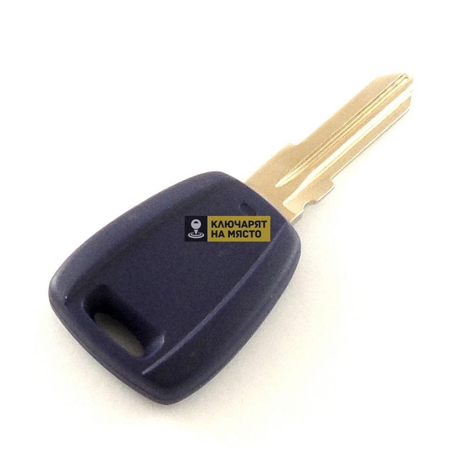 Ключ за Lancia с място за транспондер профил GT15
