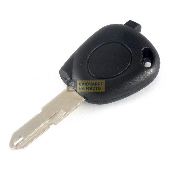 Ключ за Dacia с място за транспондер