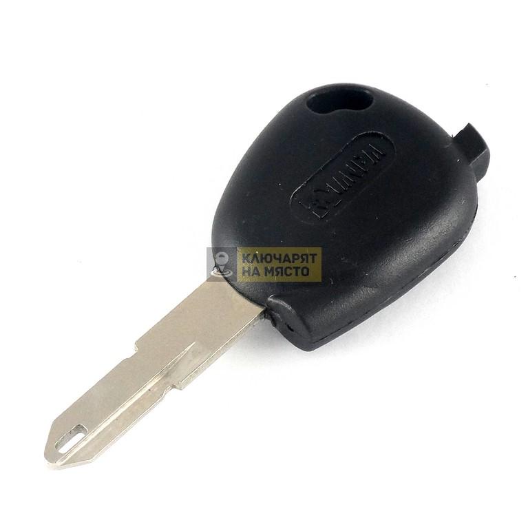 Ключ за Peugeot с място за транспондер профил NE72 NE73