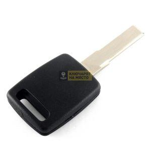 Ключ за Skoda с място за транспондер профил HU66