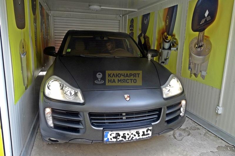 Изчистване на грешки на Porsche Cayenne