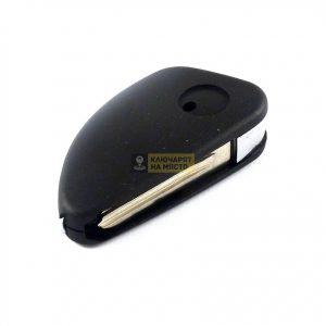 Сгъваем ключ за Jaguar с място за транспондер