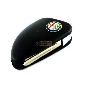 Сгъваем ключ за Alfa Romeo с място за транспондер