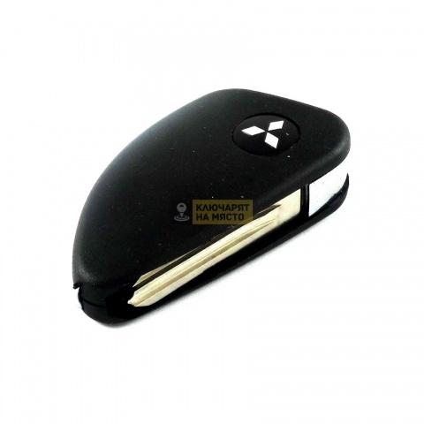 Сгъваем ключ за Mitsubishi с място за транспондер