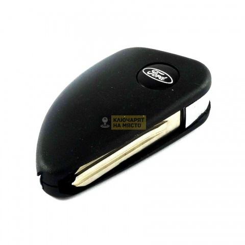 Сгъваем ключ за Ford с място за транспондер