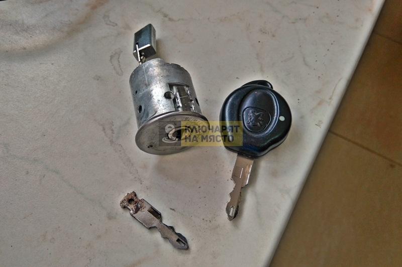 Смяна на клеморед и патрон на Peugeot 206