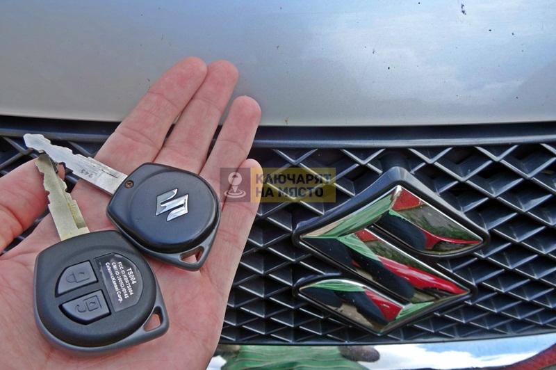 Ключ за Suzuki Grand Vitara Изработка