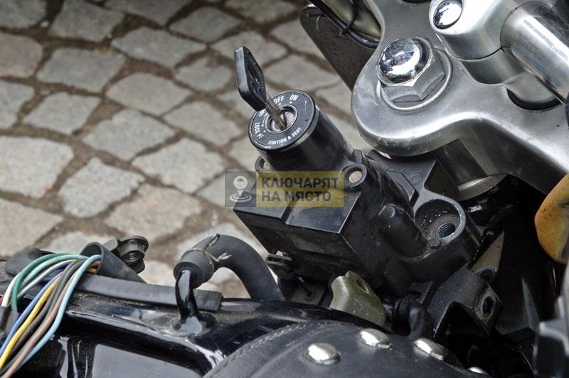 Ремонт на клеморед на Yamaha XV1600A