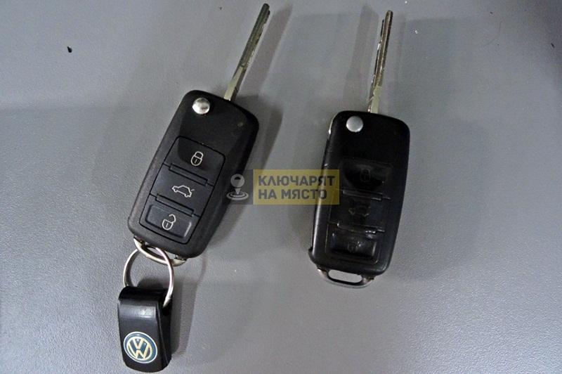 Ключ за Volkswagen Touareg Смяна на кутийка