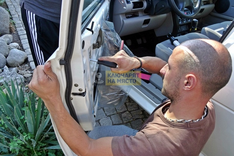 Ремонт на брава на Land Rover Freelander