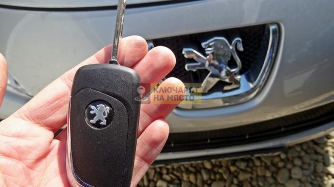 Ключ за Peugeot 207 SW Изработка и ремонт на брава