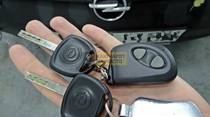 Ключ за Opel Combo Ремонт на ключ с място за чип