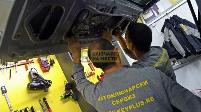 Ремонт брава на Toyota Sequoia и пренареждане на механичен код