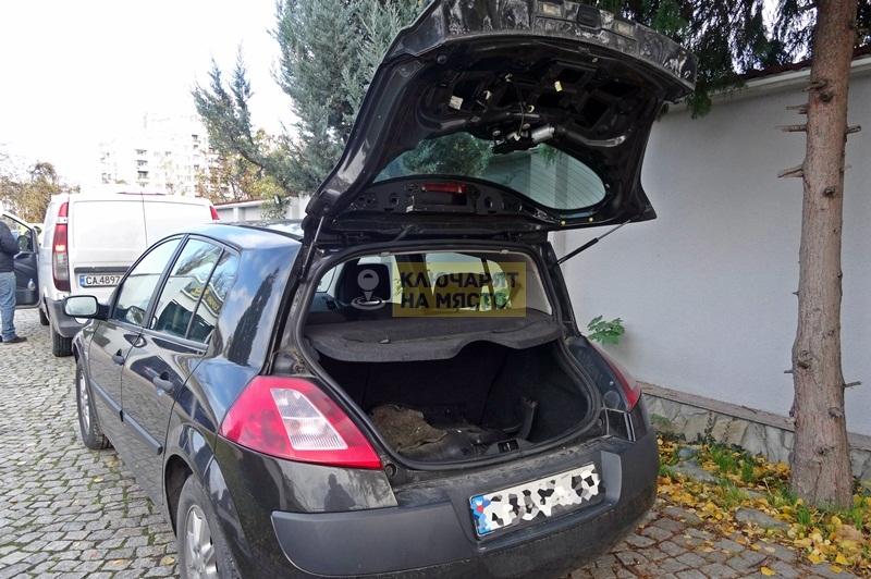 Ремонт брава на Renault Megane
