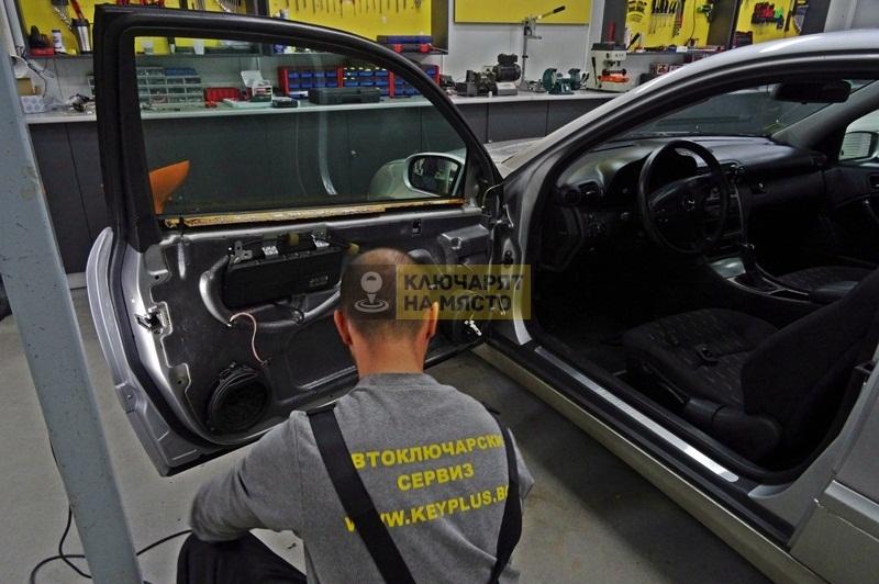 Ремонт брава на Mercedes CLK