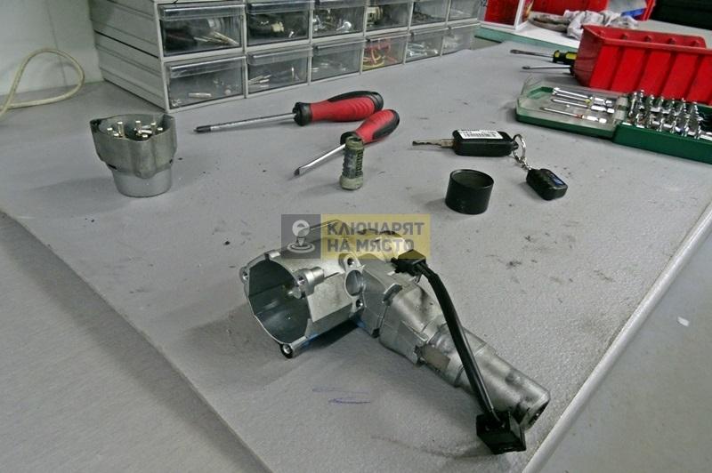 Смяна на конзола на стартер за Mercedes C-class