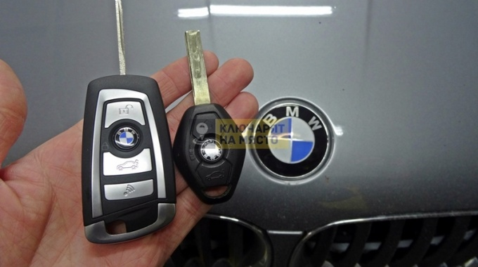Ключ за BMW X3 2005 Изработка